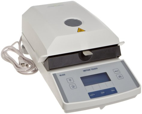 Infrared Moisture Measurement
