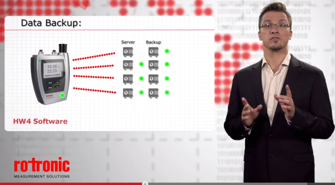 Friday Video! How to Monitor, Alarm & Report you conditions with Rotronic