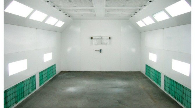 Humidity measurement in Paint Spray Booths
