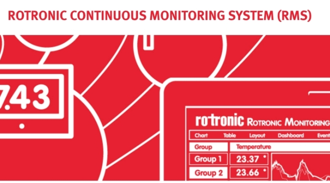 What is the latest monitoring system from Rotronic? A practical answer and a technical answer.